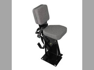 Side Kick Seat Fabric Gray Case IH 9110 9130 9150 9170 9180 9210 9230 9240 9250 9260 9270 9280 9310 9330 9350 9380 9390 9370 Steiger BEARCAT 1000 LION 1000 PANTHER 1000 COUGAR CR1280 KR1225 KR1280