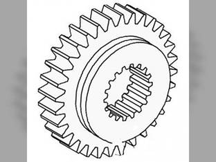 Transmission Pinion Gear - 4th Massey Ferguson 235 165 270 240 250 265 283 275 285 245 255 1868010M1