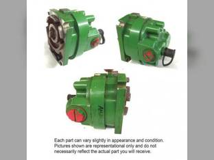 Used Power Steering Pump AH214329 John Deere 9560 9570 9660 9670 9760 9770 9860 9560 9570 9660 9670 9760 9770 9860