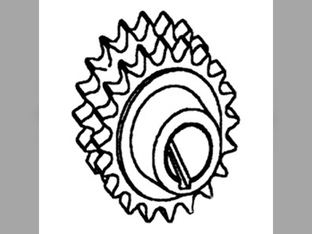 Feeder House, Header Drive Sprocket