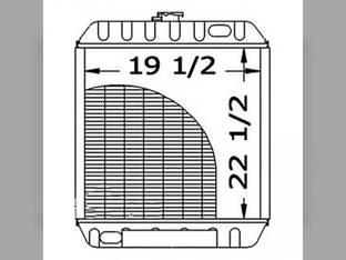 Radiator New Holland LS190 LX985 86546700