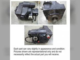 Used Hydrostatic Drive Motor Case IH 5088 87606704