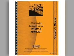 Operator's Manual - KU-O-M4050+DT Kubota M4050 M4050 M4050