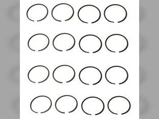 Piston Ring Set - Standard - 4 Cylinder Massey Ferguson 175 180 Allis Chalmers 170 Perkins A4.236