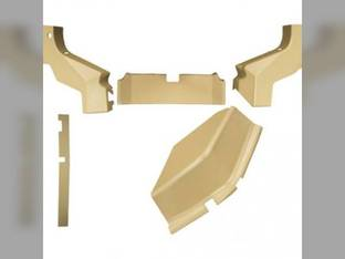 Cab Foam Kit Formed Plastic 5 Pieces Tan John Deere 6200 6100 6300 6400 6500