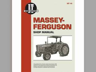 I&T Shop Manual - MF-46 Massey Ferguson 399 399 360 360 350 350 340 340 355 355