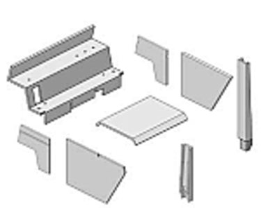Upholstery Kit - Gray