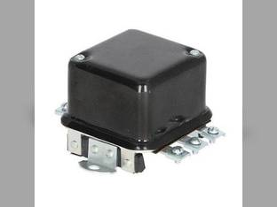 Voltage Regulator - 6 Volt - 4 Terminal - Flat Mount Massey Ferguson TO35 International 350 Super M 100 M H 140 300 340 400 450 Super A Cub Super H John Deere Allis Chalmers CockShutt / CO OP Case