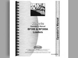 Operator's Manual - KU-O-LDRBF300+ Kubota B8200 B8200 BF350
