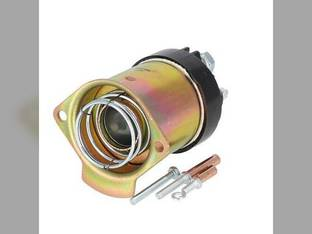 Starter Solenoid - Short Delco Style - 12 Volt - 4 Terminal Allis Chalmers International Gleaner Massey Ferguson 165 255 265 175 30 White Oliver Bobcat Minneapolis Moline Deutz John Deere 4400 Ford
