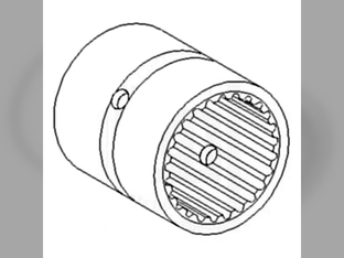 Sleeve, Transmission Input Shaft Gear Mounting