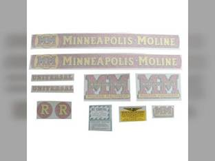 Tractor Decal Set R Vinyl Minneapolis Moline R