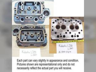 Used Cylinder Head Kubota L260 L240 15151-03114