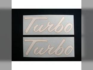 Turbo Decal International 4786 4586 4568 4386 4366 4186 4166 4156 2756 2706 2656