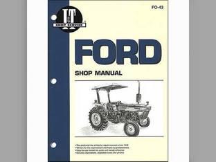 I&T Shop Manual - FO-43 Ford 3910 3910 2910 2910 2810 2810
