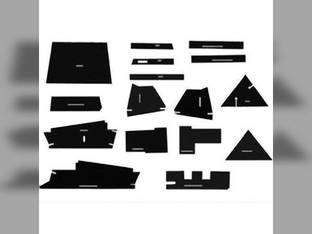 Cab Foam Kit with Headliner & Post Kit Allis Chalmers 7000 7020 7030 7040 7060 7045 7050 7080 7010