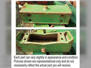 Used Weight Bracket John Deere 4050 7410 2955 2950 2940 4630 2510 4620 7400 4240 4010 4230 2840 4250 3020 7710 7800 7700 7810 7510 7600 4255 5020 4000 4020 7200 7210 4040 4030 7610 6030 3150 2520
