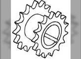 Upper Unit Drive Sprocket, New, Gleaner, 70586190, 70595642