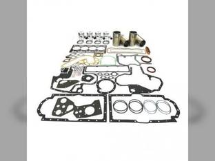 Engine Rebuild Kit - Less Bearings International 654 585 275 375 D206 105 TD7 624 100 584 Case IH 595 3230