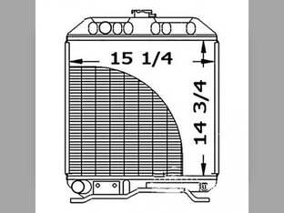 Radiator Kubota L2650 L2950 17367-72060