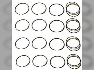 Piston Ring Set - Standard - 4 Cylinder Case 750 D301 W9A 1010 830 1060 850 W7