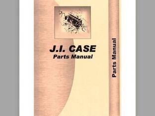 Parts Manual - CA-P-D EARLY Case D D