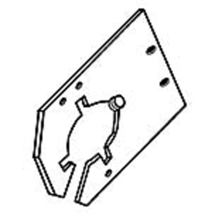 Feederhouse Lower Shaft Bracket - Left Hand
