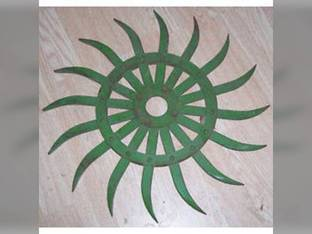 Rotary Hoe Wheel Green John Deere 420 428 75 415 430 AN142664