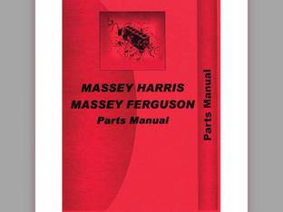 Parts Manual - MH-P-MF50 Massey Harris/Ferguson Massey Ferguson 50 50 Massey Harris 50 50