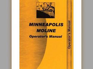 Operator's Manual - MM-O-5STAR Minneapolis Moline 5 Star 5 Star