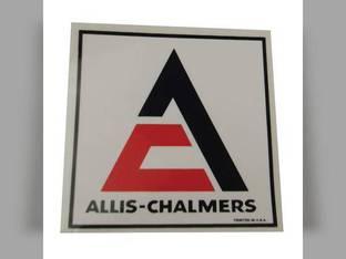 "Decal Triangle 3-1/2"" x 3-1/2"" Orange w/White Background Mylar Allis Chalmers D15 5050 D17 175 7020 B 185 D12 WC RC D21 160 WD 170 7045 D10 WD45 D19 180 200 190 D14 7050 220 5040 CA WF 7010 C 210 G"