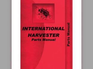 Parts Manual - IH-P-04 0S4 W4 International W40 W40 O4 O4 OS4 OS4