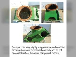 Used Verticle Unload Auger Charge Housing John Deere 9660 STS 9860 STS 9760 STS AH218494