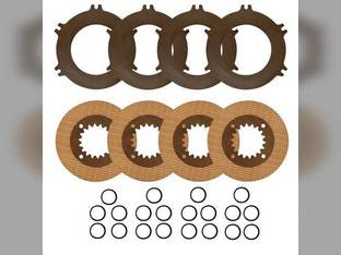 Clutch Pack Repair Kit - Differential Brake Case IH 8910 8910 MX230 MX230 7230 7230 MX285 MX285 7240 7240 8950 8950 MX210 MX210 8930 8930 8920 8920 MX255 MX255 MX220 7250 7250 8940 8940 New Holland