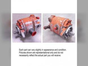 Used Dual Stage Hydraulic Pump Allis Chalmers 200 220 190 210 70255100