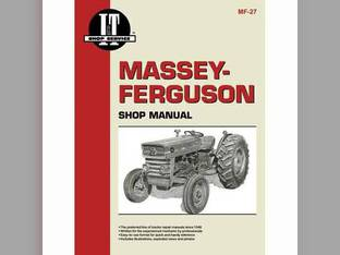 I&T Shop Manual - MF-27 Massey Ferguson 165 165 135 135 150 150