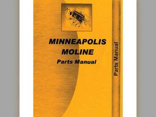 Parts Manual - MM-P-BF Minneapolis Moline BF BF