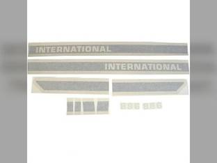 Decal Set International 886