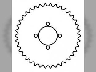 Walker Drive Sprocket Gleaner F2 F3 K2 71320621