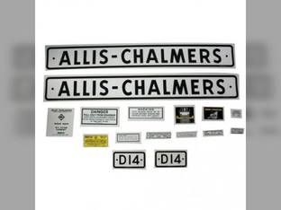 Decal Set Allis Chalmers D14