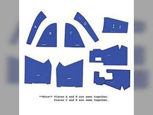 Cab Foam Kit less Headliner Blue Ford 5610 7610 6610