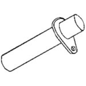Front Axle Support Pin - Rear