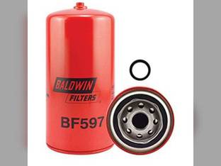 Filter - Fuel Spin On With Drain BF597 5 New Idea Allis Chalmers TL545 7020 7060 7045 7080 7580 7010 4321716 Gleaner N6 N5