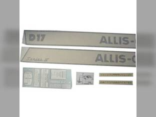 Decal Set Allis Chalmers D17