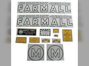 Tractor Decal Set M Mylar International M
