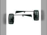 Tractor Mirror Set with Extendable Arms