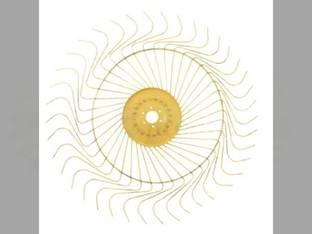 Rake Wheel - RH Complete Tonutti P2 P3 P4 P5 P6 RCS10 RCS12 RCS8 Vicon H1020 H1050 H1240 H1340 H820 HKX620 HKX621 90095347 95347 V90095347Z