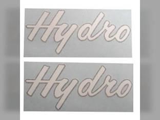 Decal Set International Hydro 186 Hydro 84 Hydro 70 Hydro 100 Hydro 86 528296R1