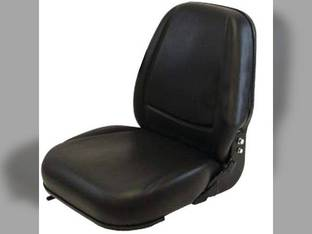 Seat Assembly - Deluxe High-Back 230 Series New Holland L170 LS160 LS170 L185 L160 L175 John Deere 315 240 320 Kubota Caterpillar Bobcat S160 S150 763 S175 T190 773 753 S185 Gehl Mustang Case 1845C