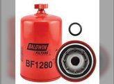 Filter Fuel/Water Separator Spin-on with Drain BBF1280H JCB Case IH 7110 7230 7140 7120 Case White AGCO Massey Ferguson Hesston Allis Chalmers Gleaner New Holland Steiger Bobcat Cummins McCormick